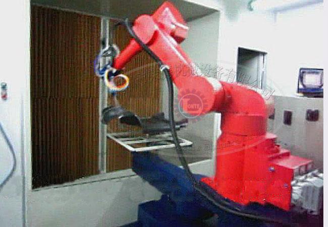 规划机器人喷涂生产线的结构组成