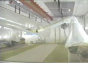 飞机外壳智能喷设备