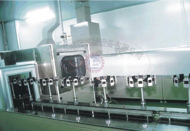 自动噴塗生産線